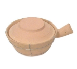 Town 34757 24 oz Ceramic Sauce Pan, With Lid, 7-3/4 in