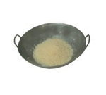 Town 34804 Cantonese Style Flat Bottom Wok, 2 Steel Riveted Handles, 14 in