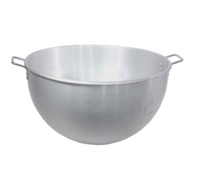 Town Food Service 37180 80 qt Aluminum Stock Pot w/Round Bottom & Riveted Steel Handles