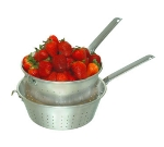 Town 37910H 10 in Strainer, With Handle And Hook, Aluminum