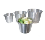 Town Food Service 38013 36 qt Vegetable Colander, Large Riveted Handles, Aluminum
