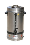 Town Food Service 39109 60 Cup Coffee Maker Percolator Urn, Stainless, 120 V