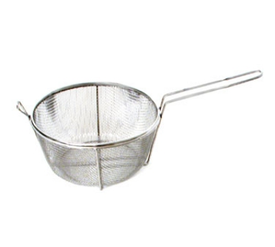 Town 42940 9-1/2 in Diameter Culinary Basket, 8 in Handle, Stainless