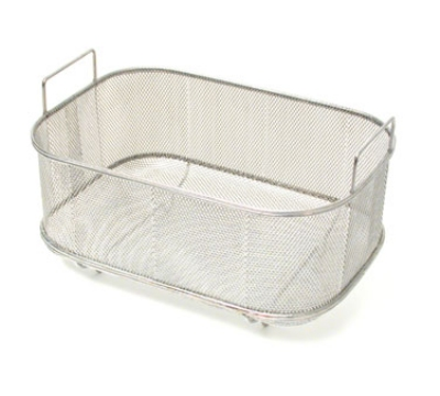 Town 42950 Bar Sink Strainer Basket w/ Handles & Feet, 9-1/2 X 14 X 5-1/2-in