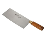 Town 47374 Chinese Cleaver Slicer, 8 X 3-3/4-in Tampered Stainless Blade