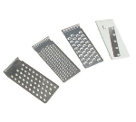 Town 48685 Manual Tabletop Vegetable Slicer: 1-Slicer, 2-Shredders, 1-Graters