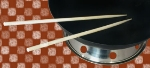 Town Food Service 51317 17 in Bamboo Chopsticks, For Cooking and Serving