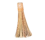 Town Food Service 53180 11 in Asian Style Wok Brush, Bamboo, 4 in Brush Face
