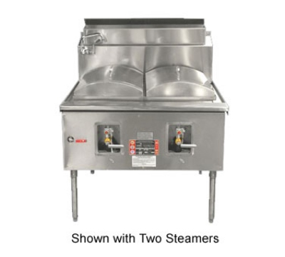 Town Food Service CF-1 NG Cheung Fun Noodle Range, Gas, 1 Two Ring Burner, Manual Fill Faucet, NG