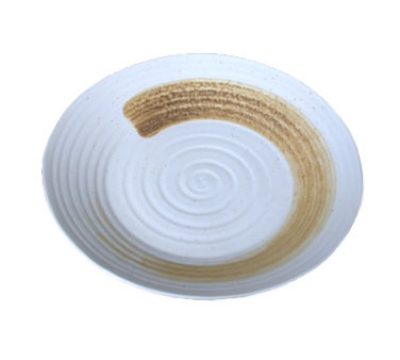 Town Food Service J1-0420 10-1/2 in Diameter Dinner Plate, Round, Sands of Goa