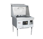 Town Food Service Y-1-SS LP York Wok Range, 1 Chamber, Fiber Ceramic Insulation, Stainless Sides, LP