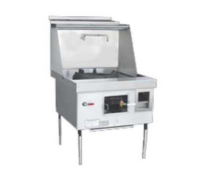 Town Food Service Y-1-STD LP York Wok Range, 1 Chamber, Fiber Ceramic Insulation, Painted Sides, LP