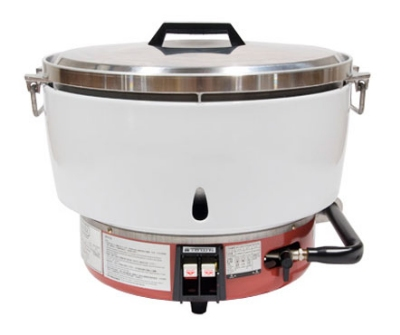 Town Food Service RM-50P-R 55-Cup Rice Cooker w/  Aluminum Exterior, LP