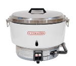 Town Food Service RM55PR 55 Cup Commercial Rice Cooker, Steel Handles, Aluminum Exterior, LP