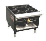 Town SR-18-R-SS 1-Burner Stock Pot Range, LP