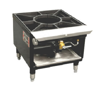 Town Food Service SR-18-R-SS LP 1-Burner Stock Pot Range, LP