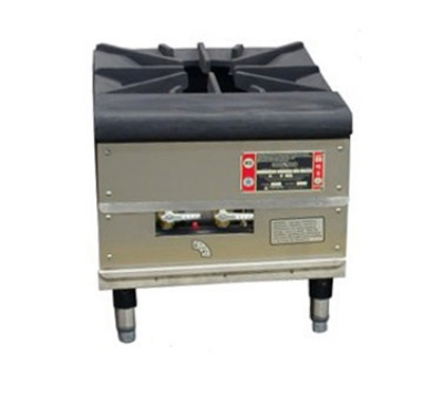 Town Food Service SR-24-G-SS LP 1-Burner Stock Pot Range, LP