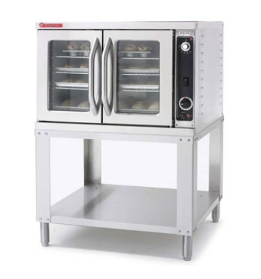 Market Forge 2600PHE2081 Purr-Fect Height Convectionc,Single-Deck 11.0 kW 208/1 V Restaurant Supply