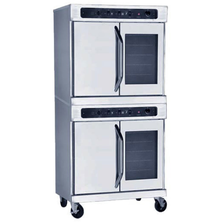Market Forge 8092 Double Full Size Electric Convection Oven, 208v/3ph
