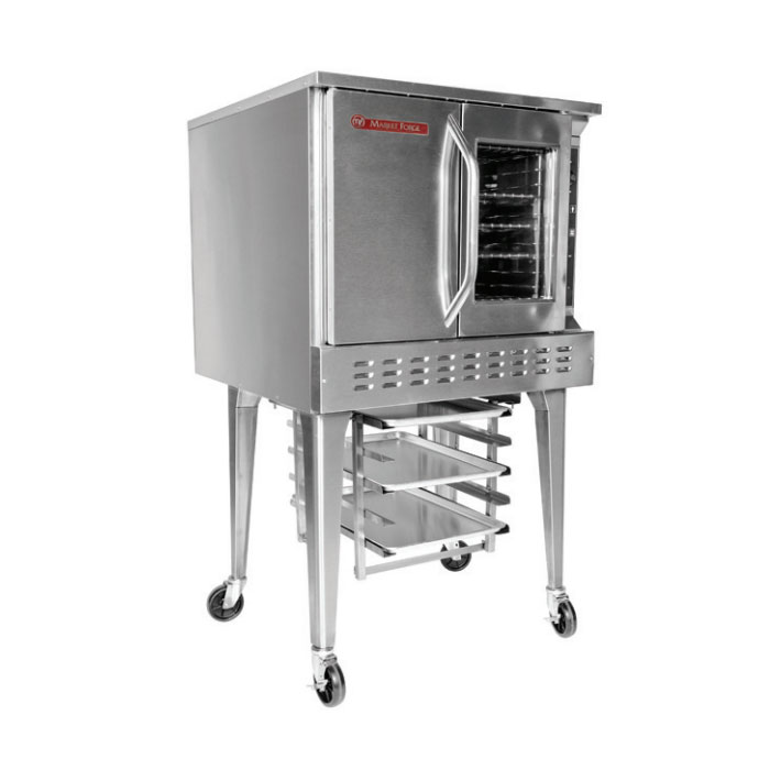 Market Forge 8100 Full Size Gas Convection Oven, NG