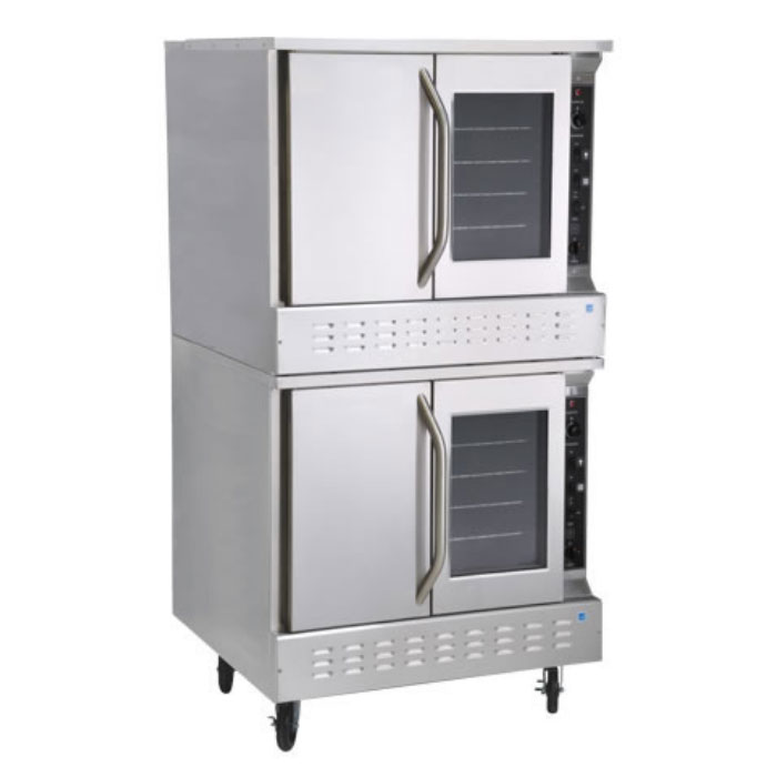 Market Forge 8192 Double Full Size Gas Convection Oven, NG