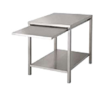 Market Forge 92-1014 Stationary Stand, w/ Removable Slide-Out Shelf, Undershelf