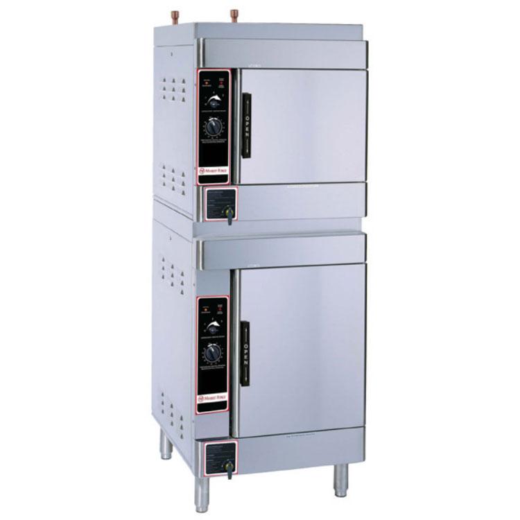 Market Forge ALTAIR II-10 Electric Floor Model Steamer w/ (10) Full Size Pan Capacity, 240v/1ph