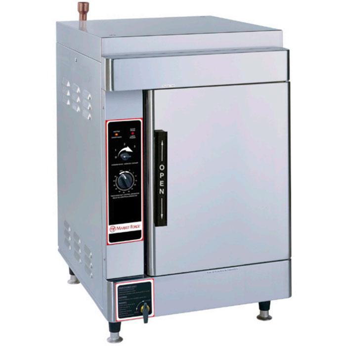 Market Forge ALTAIR II-6 Electric Floor Model Steamer w/ (6) Full Size Pan Capacity, 208v/3ph
