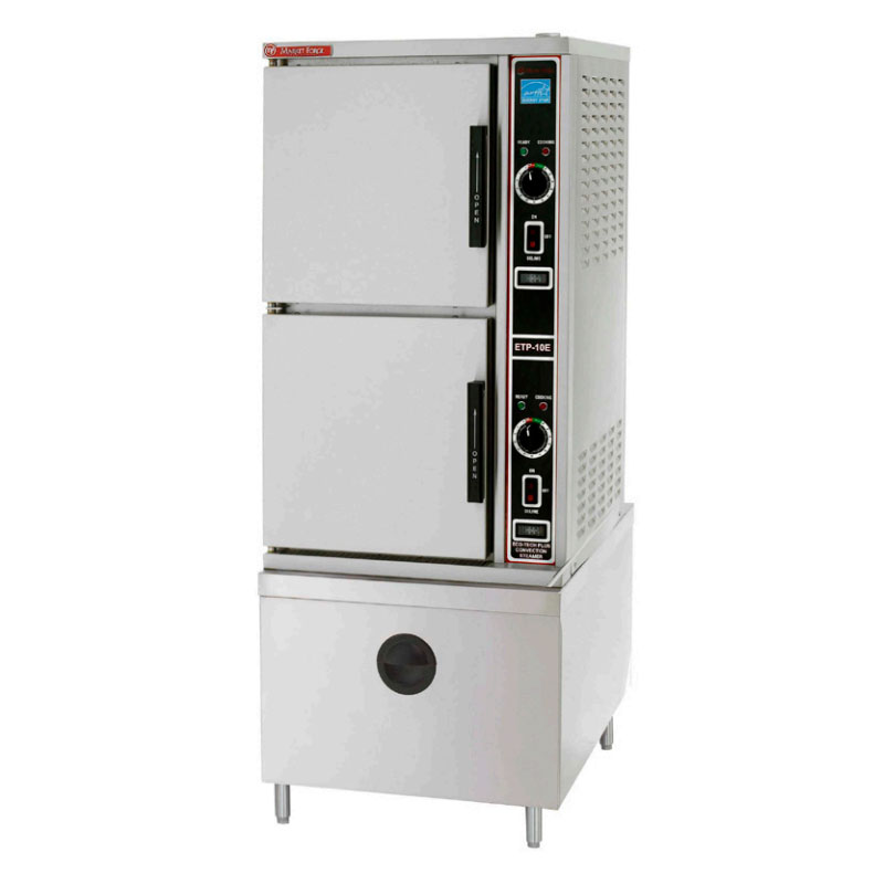 Market Forge ETP10E 208 Convection Steamer w/ 2-Compartments, 10-Pan Capacity, 208/3 V