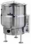 Market Forge F100L Kettle, Direct Steam, 100 Gallon Capacity, Tri-Leg, All SS Exterior