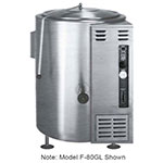 Market Forge F100GLNG Kettle, 100-gallon Capacity, SS Construction, NG