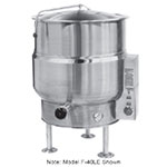 Market Forge F-100LE Kettle, 100 Gallon Capacity, Tri-Leg, All SS Exterior, 208/1 V