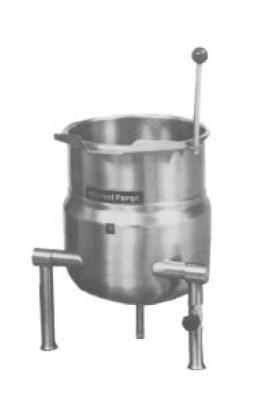 Market Forge FT12 Tilting Kettle, Direct Steam, Table Top, 12 Gallon Capacity