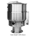 Market Forge F-30PE 30-Gallon Kettle, Pedestal Base, 208/3 V