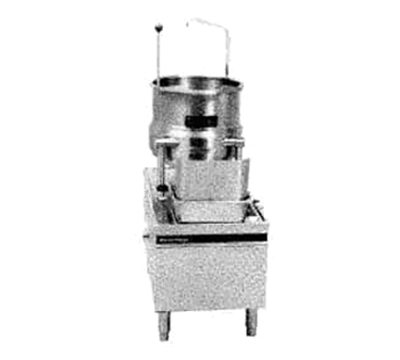 Market Forge MT10E36A 2083 10-gal Tilting Kettle w/ 24-in Base & 36-kw Steam Generator, 208/3 V