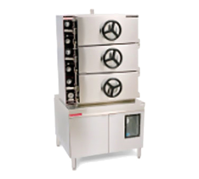 Market Forge 3AM36G300A NG 36-in Pressure Steamer w/ Mechanical Timer Controls, 300-MBTUH, NG