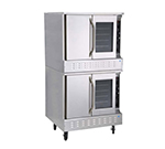 Market Forge 8392 Double Deep Depth Gas Convection Oven, NG
