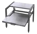 "Market Forge 91-5153 29.25"" x 21"" Stationary Equipment Stand for Tilt Skillets & Kettles, Open Base"
