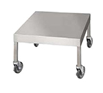"Market Forge 92-1021 28.5"" x 24"" Mobile Equipment Stand for General Use, Open Base"