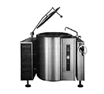 Market Forge FT-60GL LP 60-gal Tilting Kettle, 2/3-Steam Jacket Design & Open Leg Base, LP