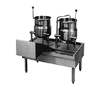 Market Forge FKT-26 26-in Kettle Table, for Direct Steam or Electric Units