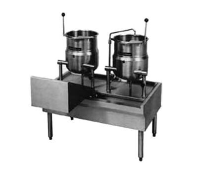 "Market Forge FKT-80 80"" Kettle Table for Direct Steam or Electric Units"