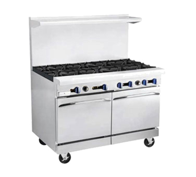 "Market Forge R-RG24-6 60"" 6-Burner Gas Range with Griddle, NG"