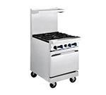 "Market Forge R-R4 24"" 4-Burner Gas Range, LP"