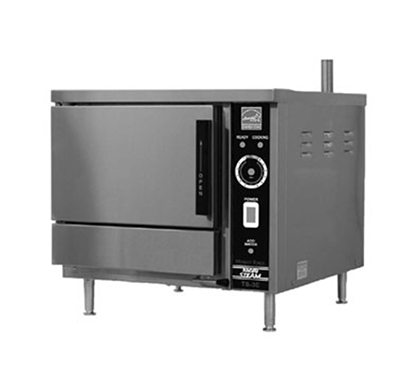 Market Forge TS-3E 2401 Boilerless Convection Steamer w/ (3) 12x20x2.5-in Pan Capacity, 240/1 V, 6-kw