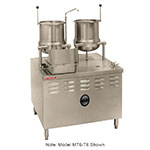 Market Forge MT10T6 Direct Steam Tilting Kettle 6 & 10-gal - Stainless
