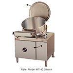 Market Forge MT25 Tilting Kettle, Direct Steam, 25 gal. Capacity, SS