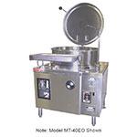"""Market Forge MT40EO 2403 40-gal Tilting Kettle, 2/3-Steam Jacket Design & 2"""" Draw-Off Valve, 240/3 V"""
