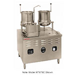 "Market Forge MT6T6E24A 2083 Tilting Kettle w/ 36"" Base & 24-kw Steam Generator, Stainless, 208/3 V"