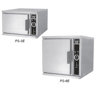 Market Forge PS-3E 2403 Convection Steamer w/ (3) 12 x 20 x 2.5-in Pans & Delime Power Switch, 240/3 V